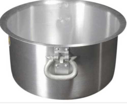 Fully Polished Aluminium Bhagona