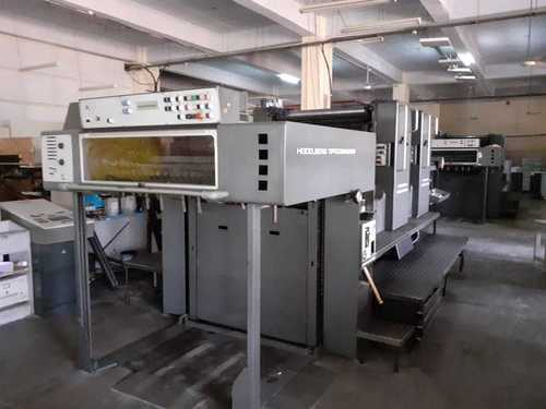 HEIDELBERG SM 102 ZP Used Offset Printing Machine