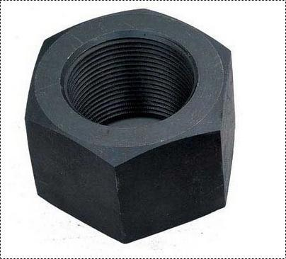 Hexagonal Mild Steel Heavy Hex Nut, Size: M16 To M125