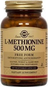 L-Methionine Capsules 500mg
