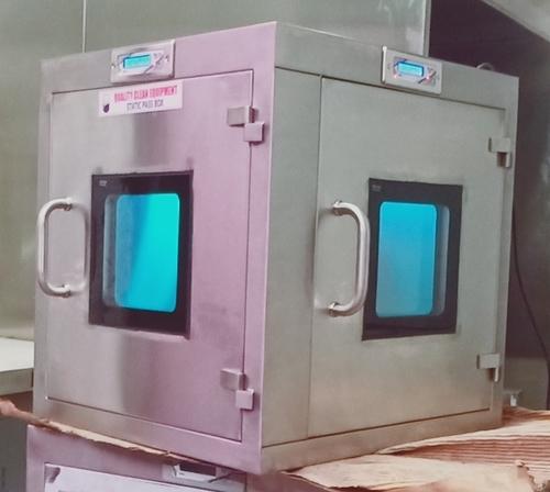 L Type Static Pass Box