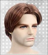 Light Brown Mens Wigs