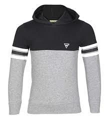 Mufti Full Sleeve T- Shirt With Hoodie