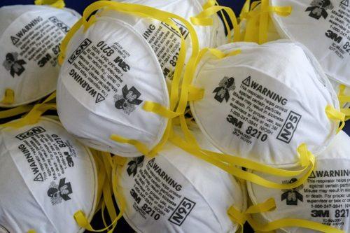 Non-Woven White N95 Dust Respirator Mask