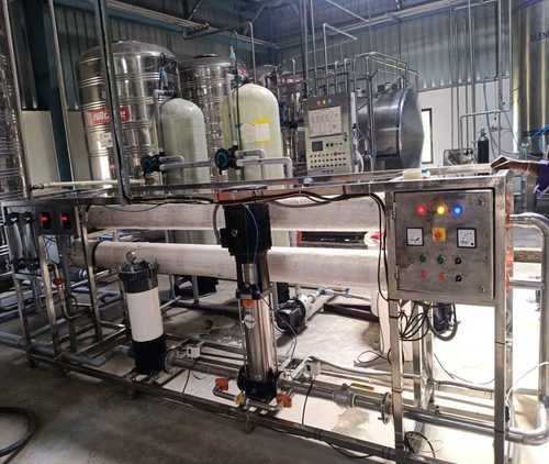 Package Drinking Water Treatment Plant