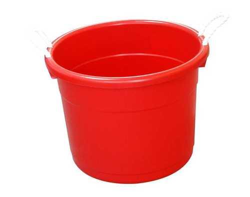 Round Shape Plastic Bucket