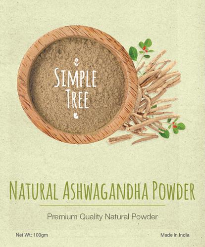 Simple Tree Natural Ashwangandha Powder