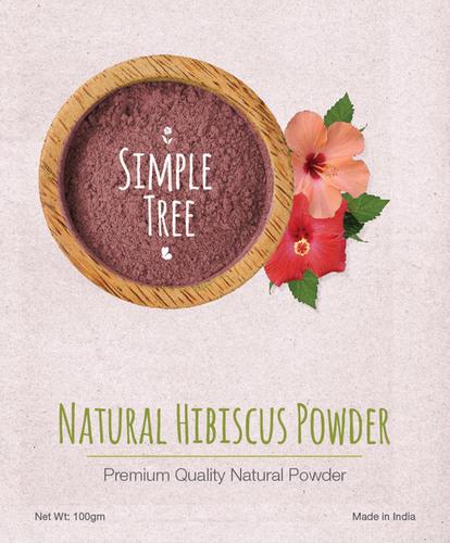 Simple Tree Natural Hibiscus Powder