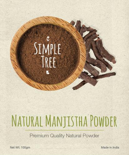 Simple Tree Natural Manjistha Powder