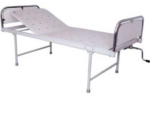 Stainless Steel White Hospital Semi Fowler Bed