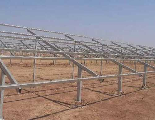Steel Solar Mounting Structure