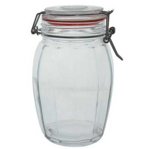 Transparent Plain Plastic Jar