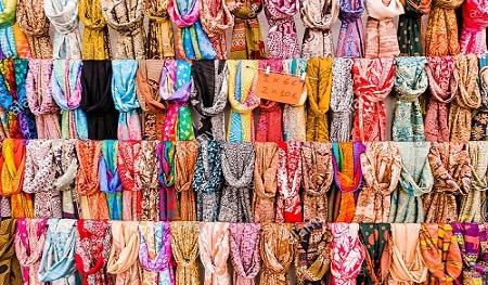 Trendy Printed Viscoce Women Scarves