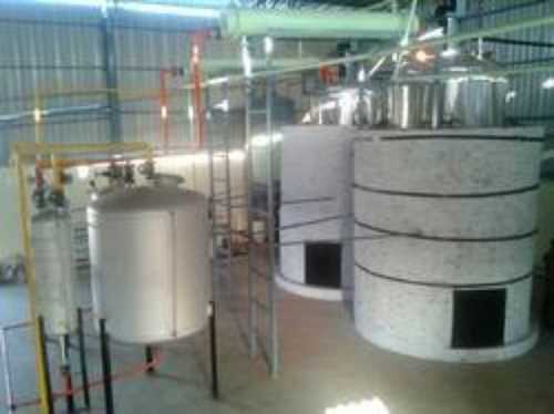 Used Semi Automatic Oil Recycling Plant