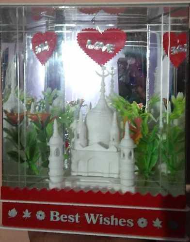 Acrylic Lighting Taj Mahal For Gift