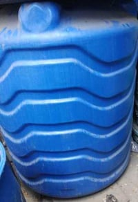 Anti Corrosive Blue Plastic Bulk Water Containers