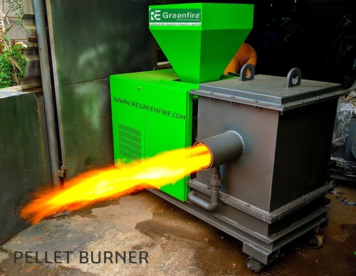 Automatic Wood Pellet Burner