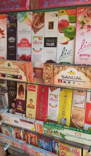 Color Raw Fragrance Agarbatti