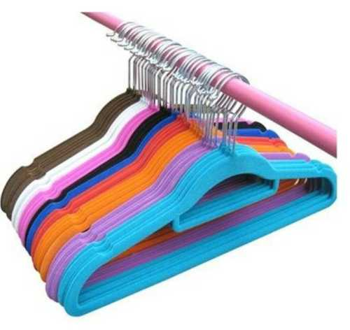 Colored Plastic Clothe Hanger