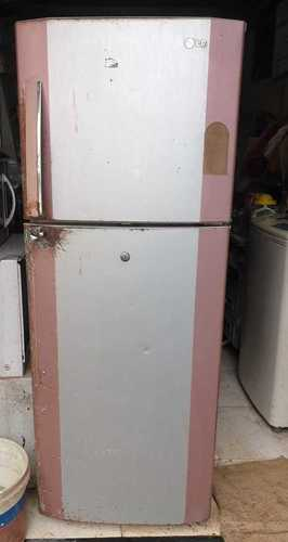 White Fast Cooling Vertical Fridge