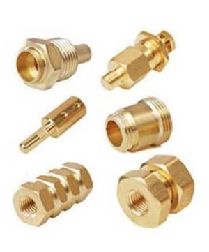 Heat Resistance Precision Brass Turned Components