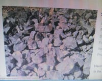 Industrial Solid Manganese Ore