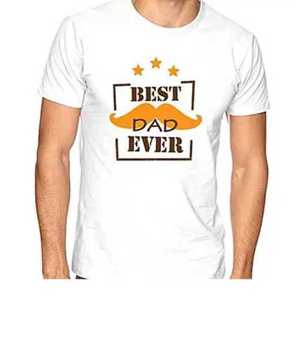 Mens White Color T Shirts