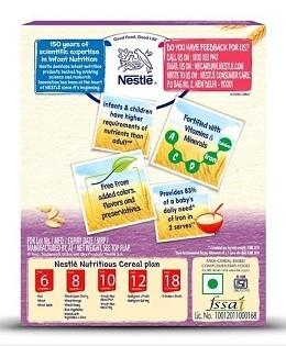 Nestle Baby Food