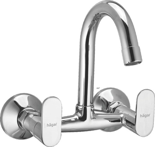 OLIVE Wall Mounted Sink Mixer (J.Pipe Spout)