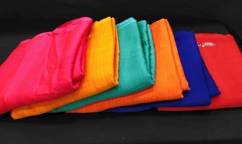 Plain Sahi Chiffon Saree Fabric