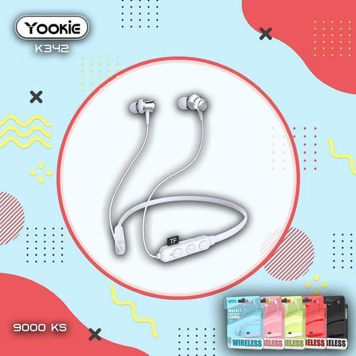 Yookie K342 Bluetooth Magnet Sport Earphones