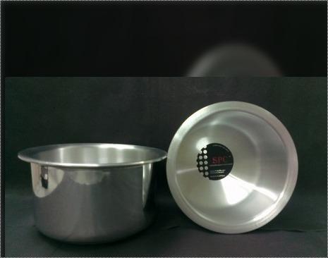 Aluminium Mirror Finish Tope For Cooking