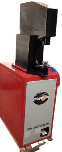Apex Brake Shoe Line Riveting Machine
