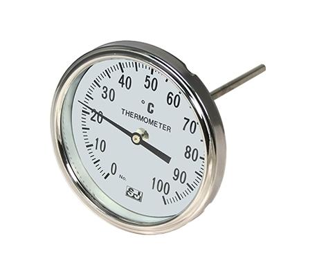 Bimetallic Back Mount Thermometers