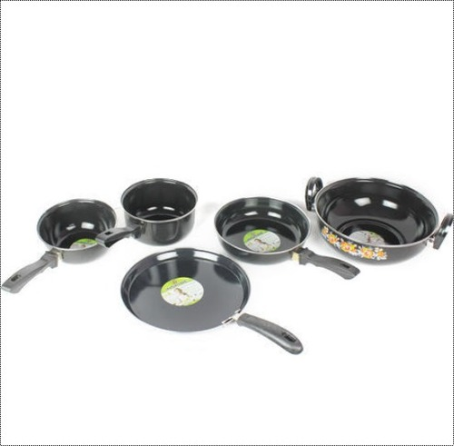 Black Non Stick Induction Cookware, For Cooking