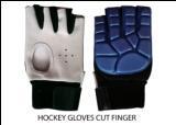 Cut Finger Hockey Gloves, Length - 10-15 Inches