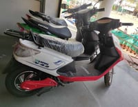 Fast Chargeable Electronic Scooter