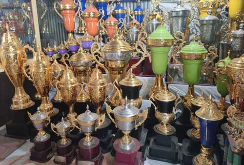 Gold Plated Awards Winning Trophy for School, College, Office