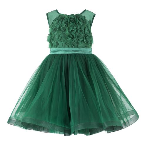 Greens Girls' Dresses