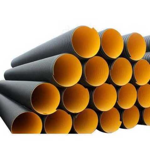 HDPE DWC Round Pipe