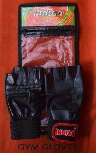 Indico Black Gym Gloves
