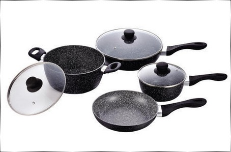 Marble Coated Cookware Sets