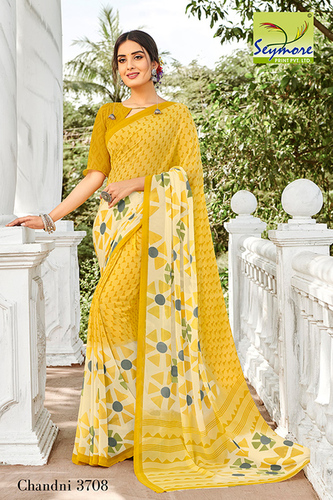 Synthetic Daily Wear Saree