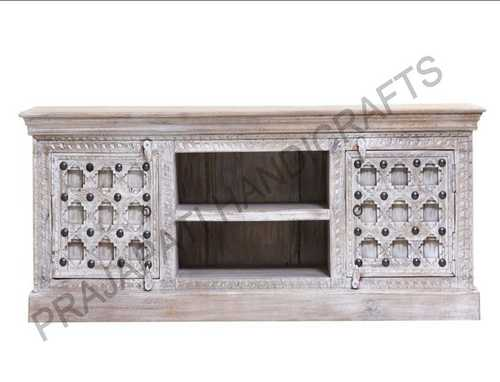 Wooden Carved Tv Stand