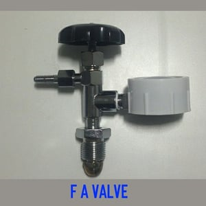 F A Valve With Pressure Gauge