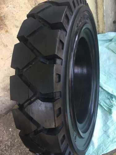 Heat Resistance Black Rubber Solid Tyres