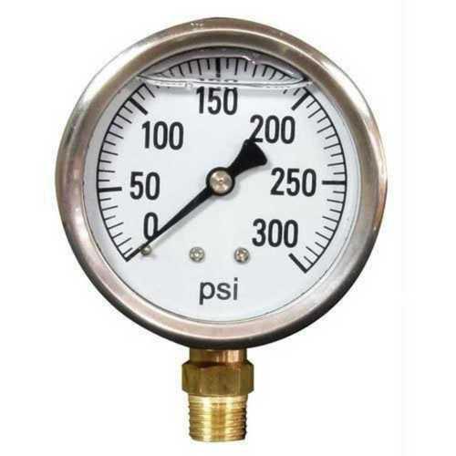 Industrial Plain Analog Pressure Gauges