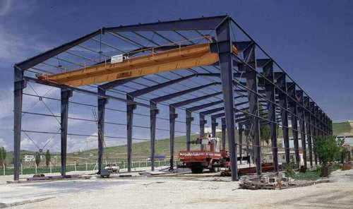 Mild Steel Pre Engineered Structure