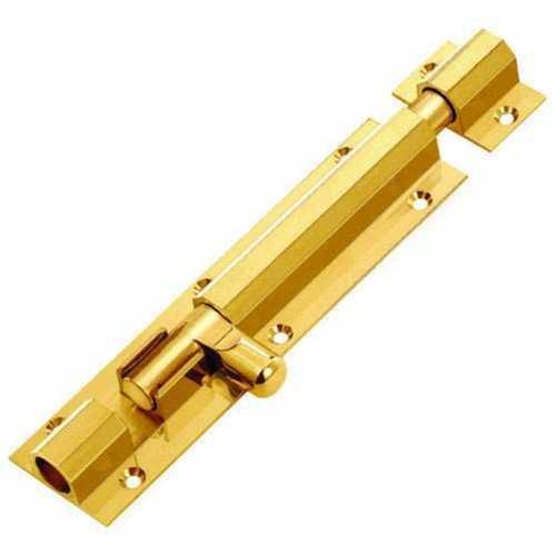 Polished Brass Tower Bolt