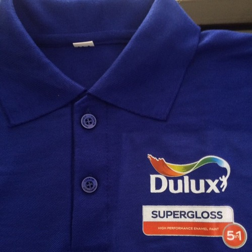 Promotional Royal Blue Polo T Shirt